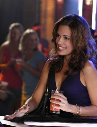 Torrey DeVitto, Nanny Carrie on One Tree Hill | Zach Dotsey