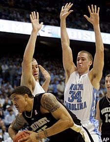 David and Travis Wear (not sure which is which) are transferring out of Chapel Hill | Image used for personal blog