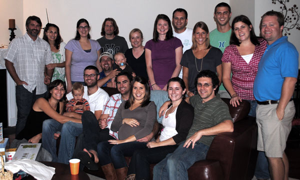 Small Group Baby Shower Photo by Mike Nowak