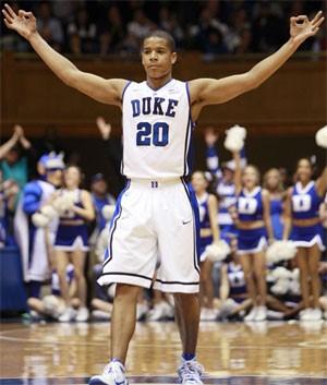 Duke's Andre Dawkins vs. Bradley