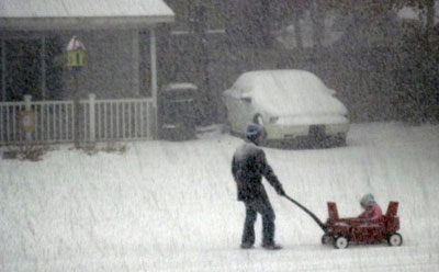 Wilmington Snow January 2011